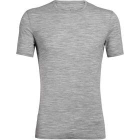 Icebreaker Anatomica Crew Top T-shirt Heren, metro heather